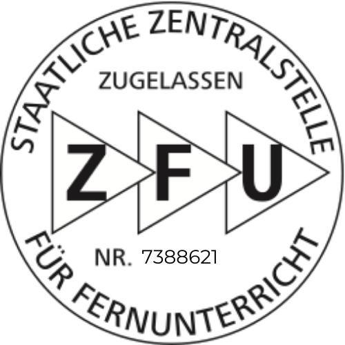 ZFU Logo Zugelassen